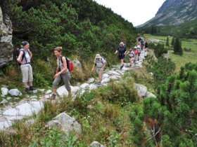 Walking Group Holiday High Tatras Slovaki