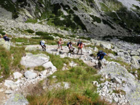 Walking Guided Holiday High Tatras Slovakia