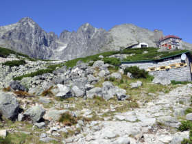 Walking Holiday High Tatras Slovakia Mountain Hut
