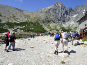Walking Holiday Skalnate Pleso High Tatras Slovakia