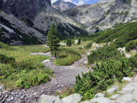 Walking Holiday Tourist Trail High Tatras Slovakia