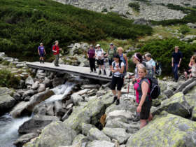 Walking Holiday Waterfalls High Tatras Slovakia