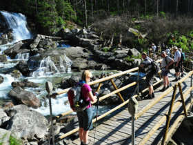 3 Cold Creek Waterfalls High Tatras Walking