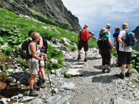 Hiking Group Holidays High Tatras
