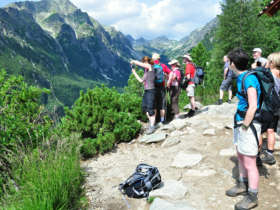 Walking Guided Holidays High Tatras Slovakia