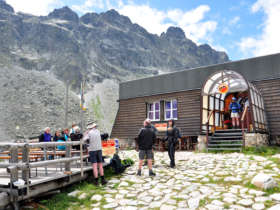 Zbojnicka Chata Hut Walking Holiday Tatras Slovakia