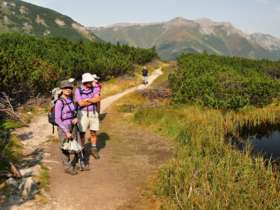 Tvt Walking Hiking Trekking High Tatras Slovakia 23