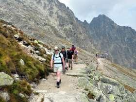 Tvt Walking Hiking Trekking High Tatras Slovakia 28