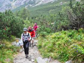 Tvt Walking Hiking Trekking High Tatras Slovakia 5