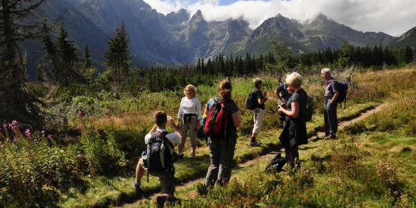 High Tatras Walking Slovakia